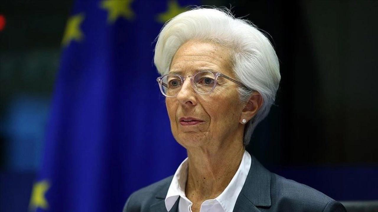 ECB Başkanı Lagarde: Euro Bölgesi enflasyonu bizce hâlâ geçici