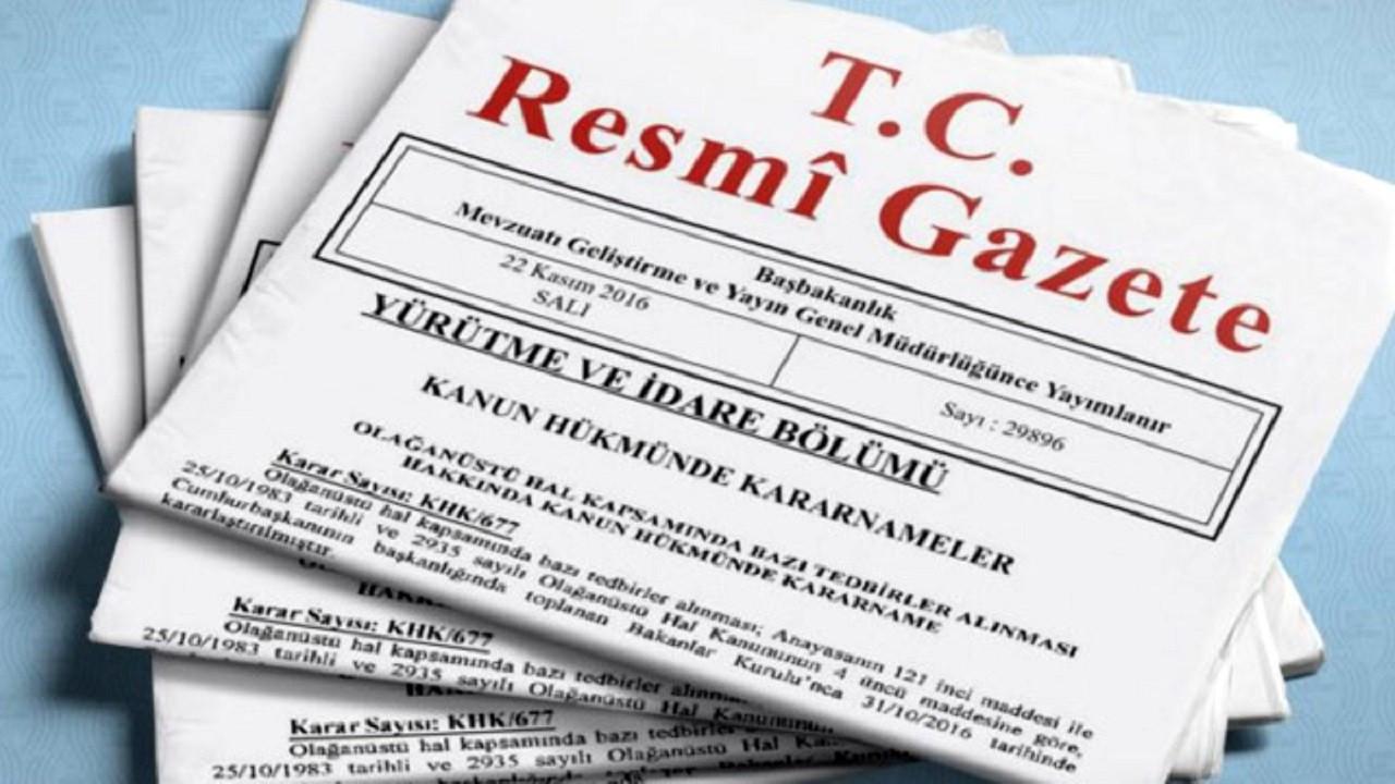 Ekonomiye ilişkin düzenlemeler içeren kanun Resmi Gazete'de yayımlandı
