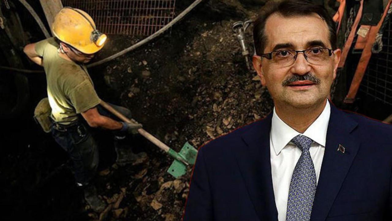 Dönmez: 2021'in ilk çeyreğinde maden üretimi yüzde 41 artış kaydetti