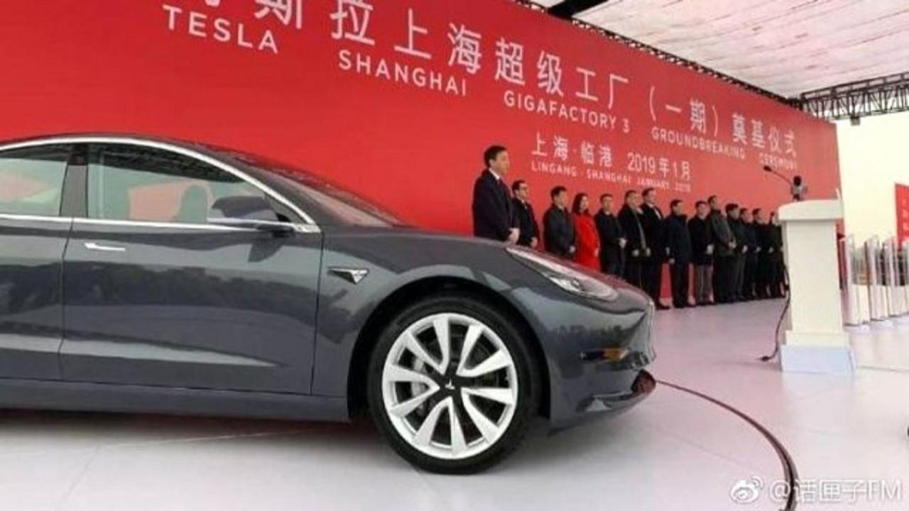 Tesla'nın Çin'de ürettiği elektrikli araç satışları yüzde 29 arttı