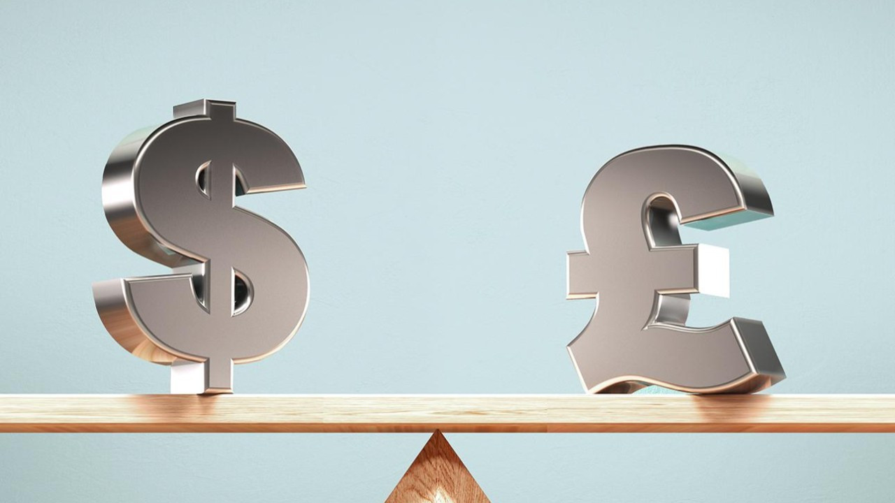 Sterlin, dolar karşısında 4 haftanın en yüksek düzeyine ulaştı